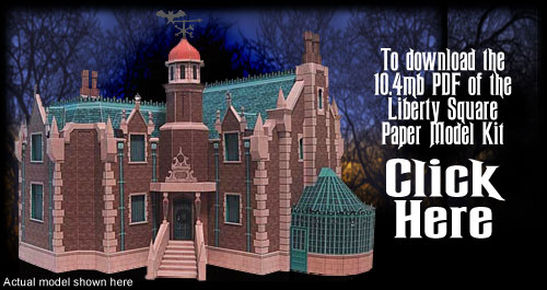 Haunted house model kits