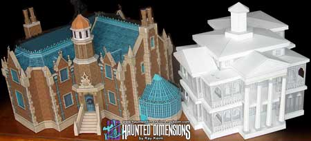 New Orleans Haunted Mansion Model Design