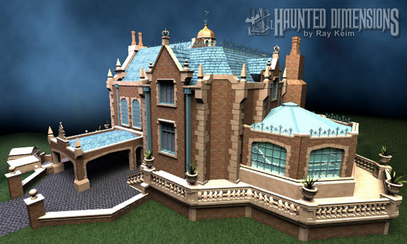 Haunted Dimensions 3d Mansion Refining